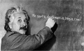 Saludos de Einstein